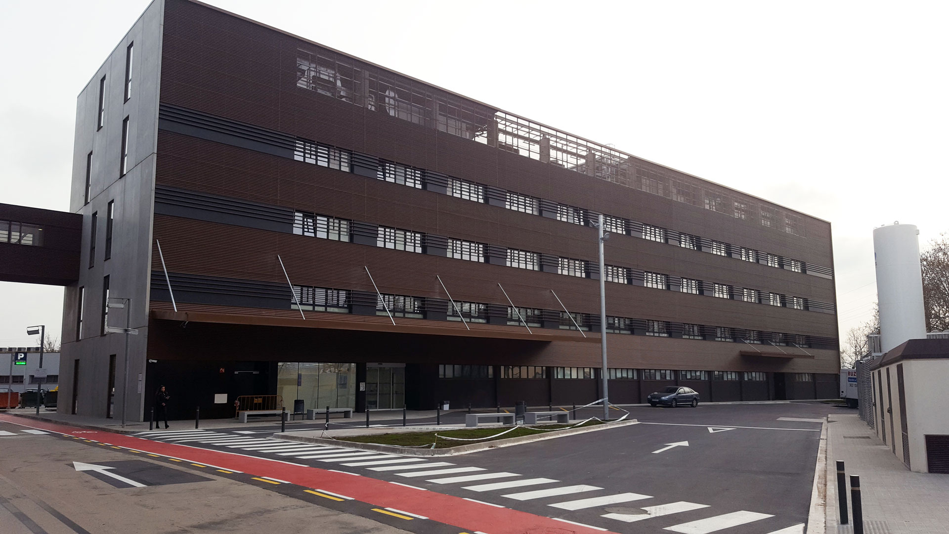 Hospital Bellvitge edifici polivalent